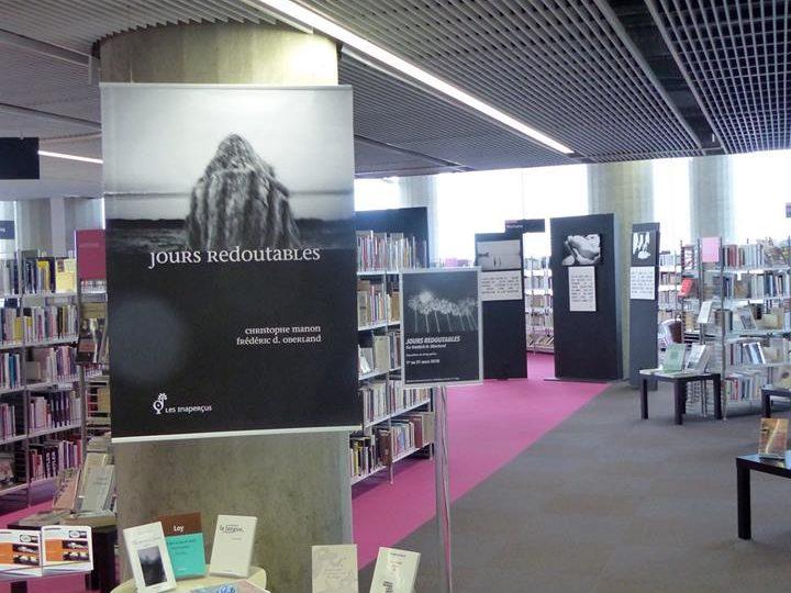 Jours redoutables : lecture-concert à la Bibliothèque Mériadeck de Bordeaux